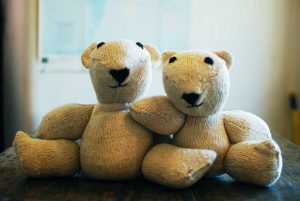 Knit-Teddy-Bears