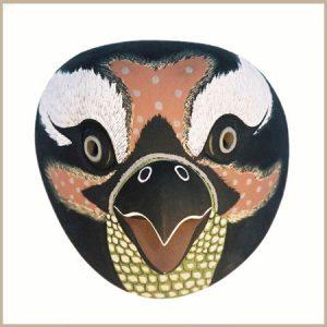 mascara pajaro